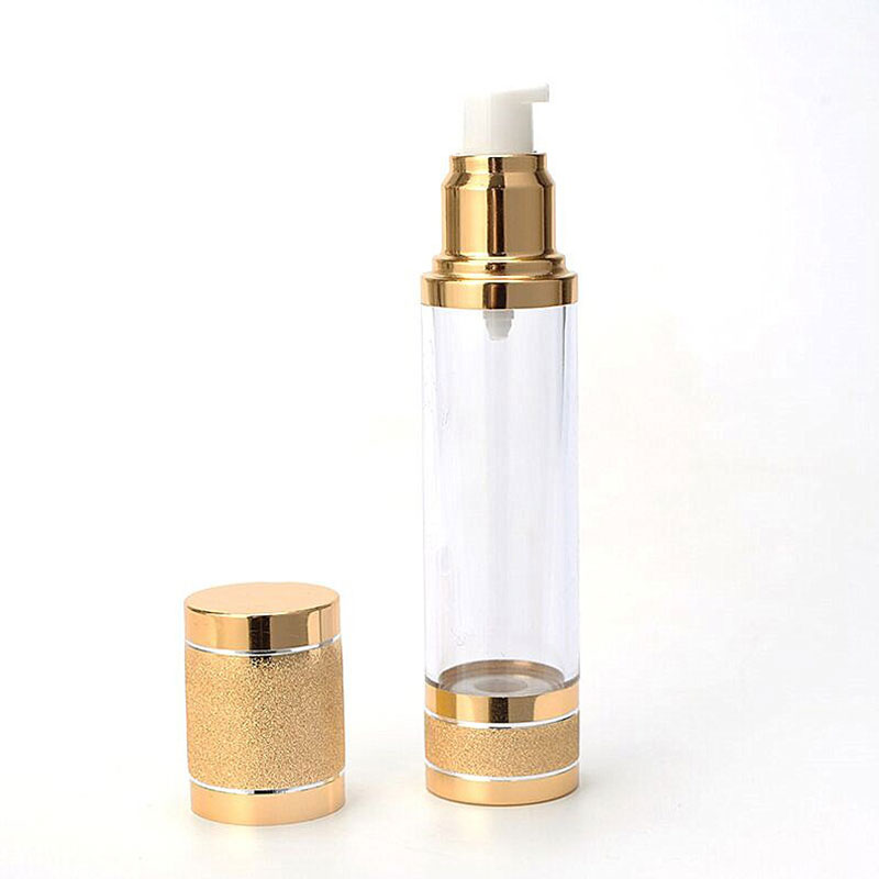 Color airless bottle