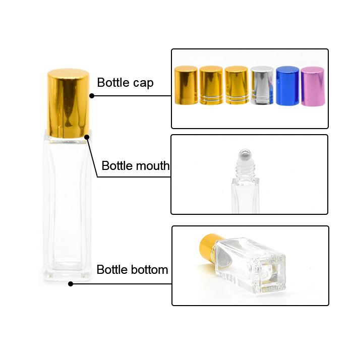 Square Roll on Oil Bottle