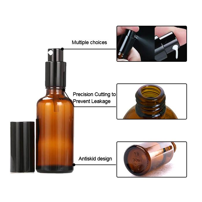 manufacturer of Round spray perfume bottle