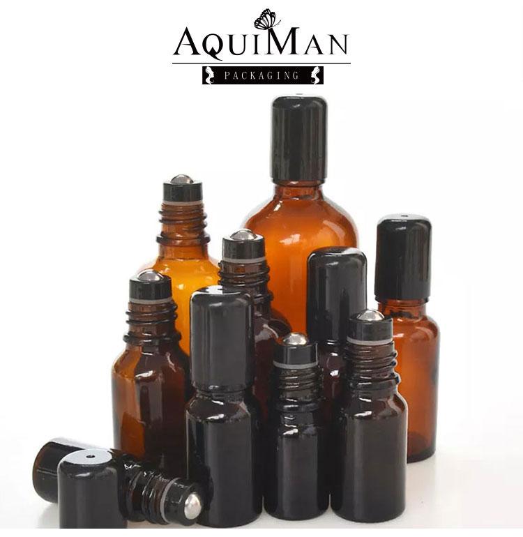 Essential oil roll on bottle