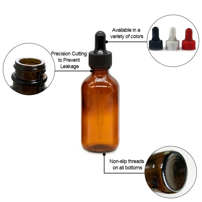 Boston essential  oil dropper bottle