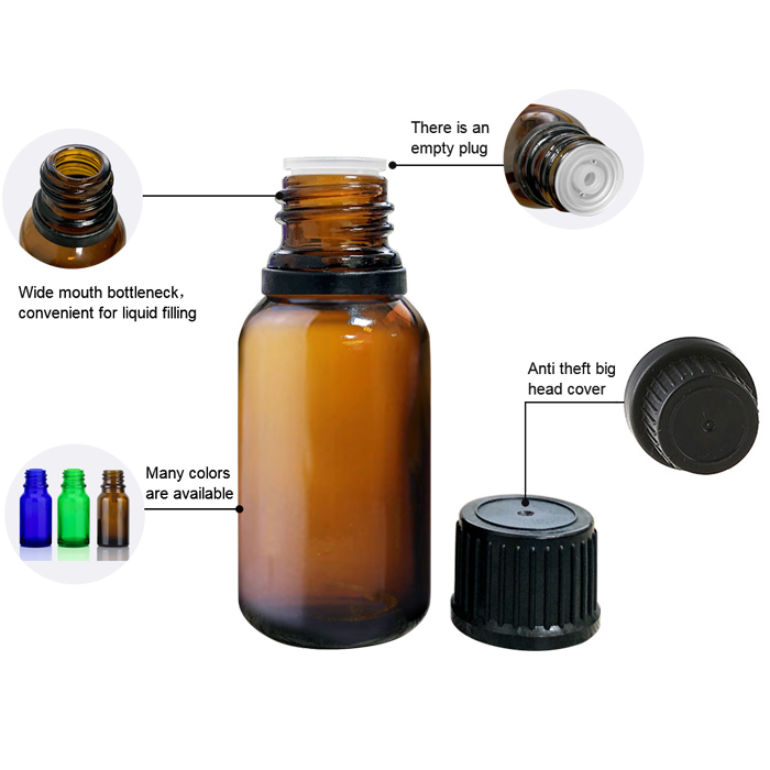 Screw Cap Oil Bottle
