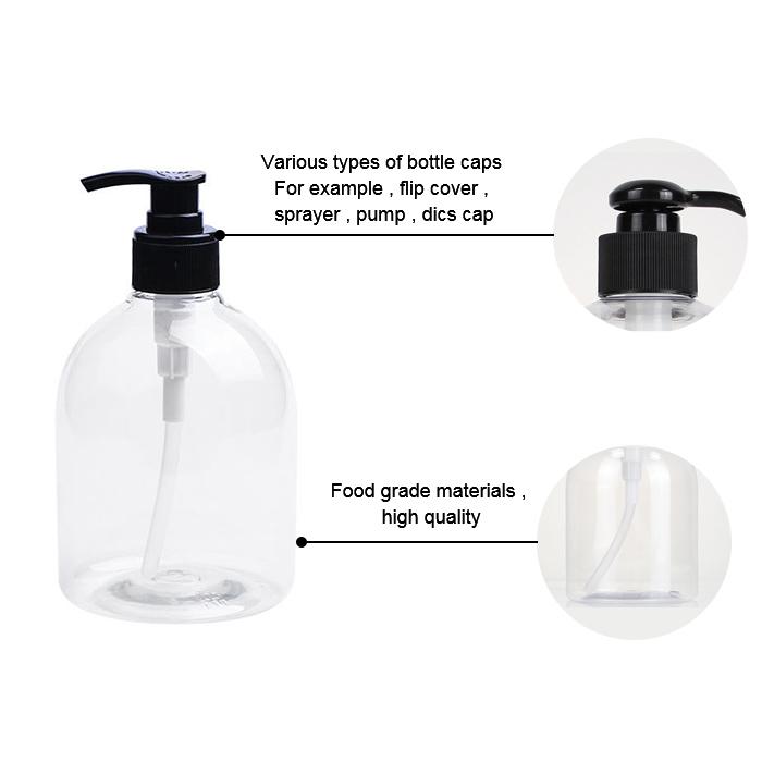 Plastic pet pump bottle