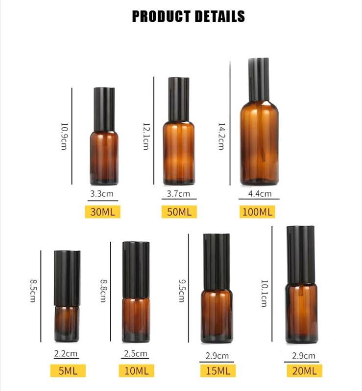Round spray perfume bottle manufacturer