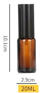 Round spray perfume bottle