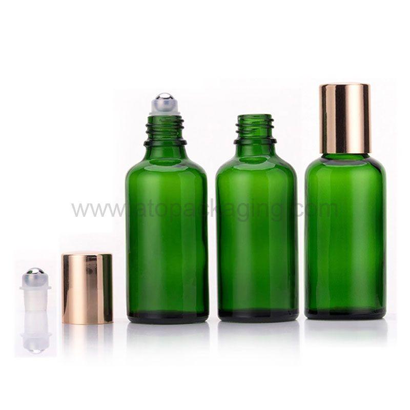 Round essential oil roll on bottle