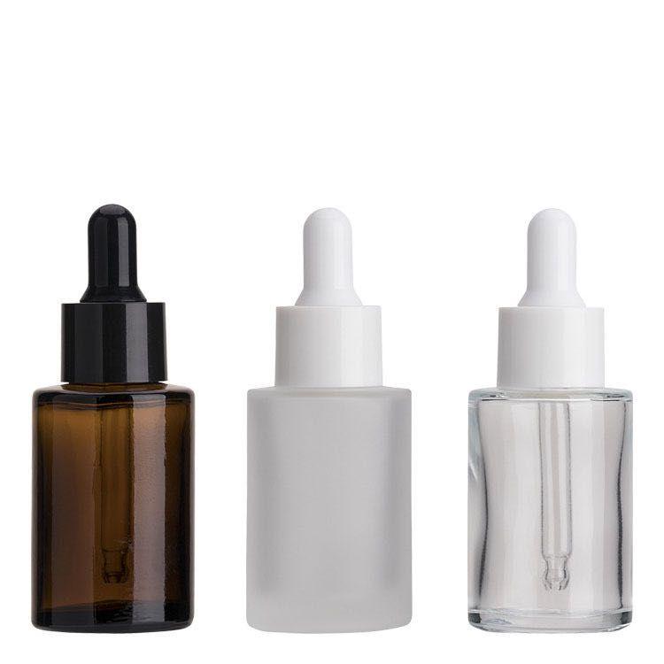 Flat essential oil dropper bottle(20ml 30ml 40ml)