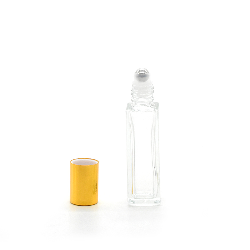 Rectangle roll on perfume bottle