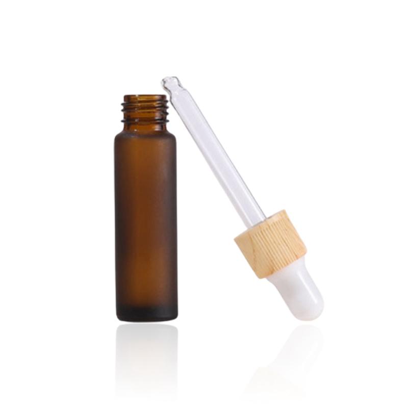 Color dropper essential oil bottle