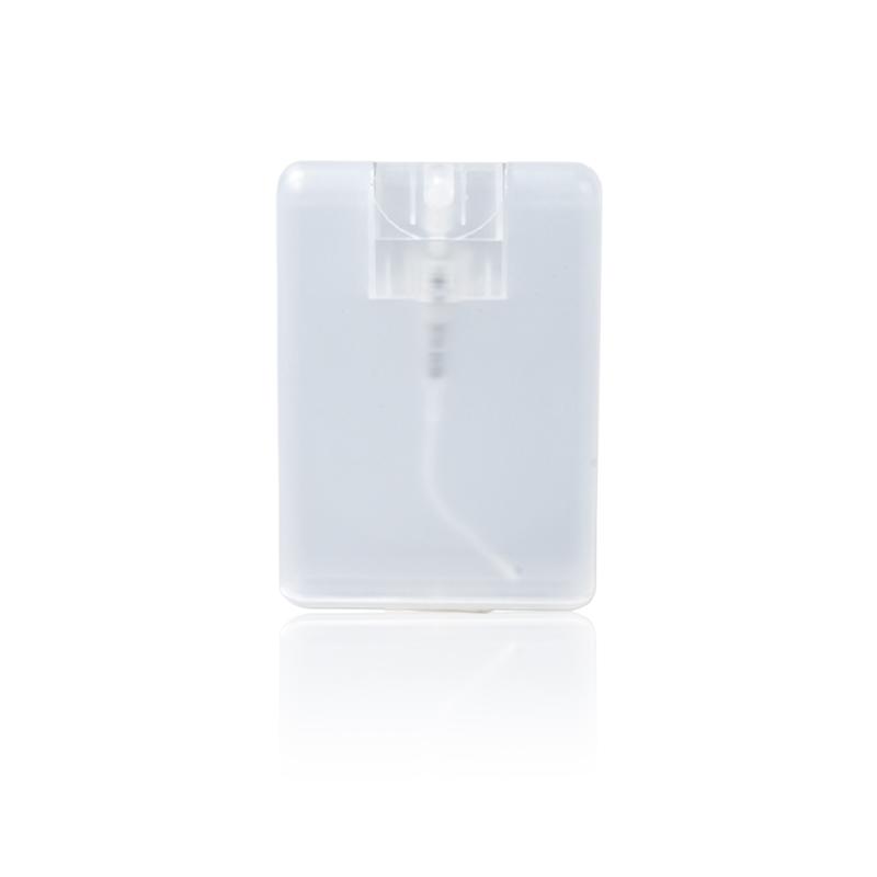 Plastic perfume card bottle